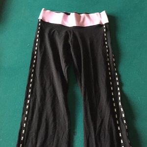 Long wide bottomed pants from the brand pink